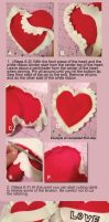 Free Heart Plush Tutorial by sengster