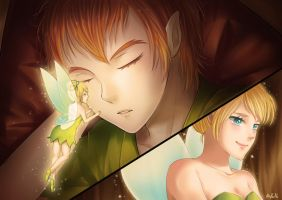 Peter Pan by nayumi-green