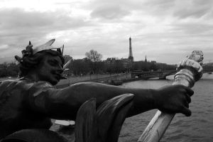 Watching Over Paris by ChappyApple