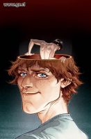 Locke And Key 05 Cover color by GabrielRodriguez