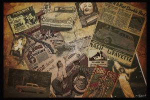 Vintage Collage by mbrummell