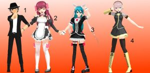 MMD Pose Pack 3 by Aisuchuu