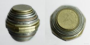 A Stack of Coins by Nora-Sims