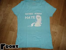 Haters gonna Hate (Fluttershy) Shirt by Grumbeerkopp