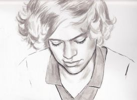 Harry Styles Portrait by PoorMedea
