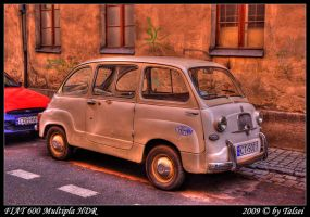 Fiat 600 HDR by talsei