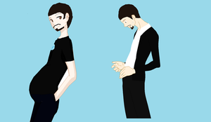 tony pregnant with brandy by art-is-my-bream