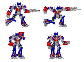 Movie Optimus Prime Sprite by EvilV