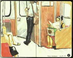 Daily Commute 2 2011 by deadlymike