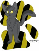 Warriors: Graystripe by Fluffy-Wolff
