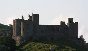 Stock - Harlech Castle by OghamMoon