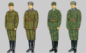 Soviet Army Uniforms 42 by Peterhoff3