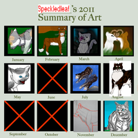 2011 Art Summary by Speckledleaf