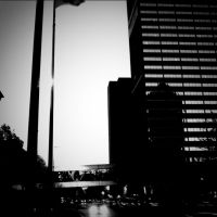 Downtown at Dusk by Geistson
