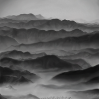 Many mountains by SoritaK