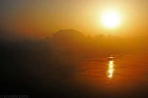 Fog and sun by Zouberi