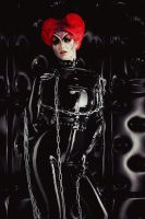 Asylum for Red Queen III by Violet-Spider