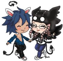 HHWW || Holding Hands While Walking by Pixitella
