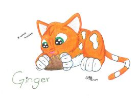 Ginger by BlueLumi