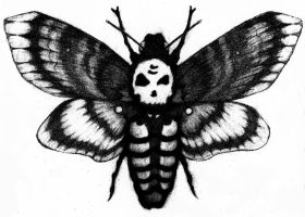 Death-Head Moth by ChristianJacobo