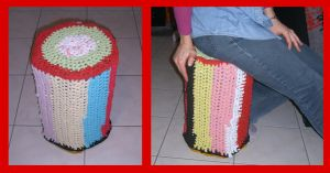 Recycle Stool by digikijo