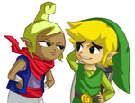 Tetra and Link by CheloStracks