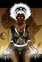 Afrocentric Storm #7 - Jack Lewis Collab by VGHopkinsJR