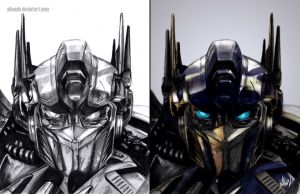Optimus Prime by AlanLizano