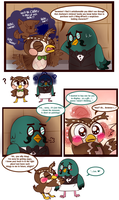 The Wonderful Pidgeon by Miss-Lizzifer