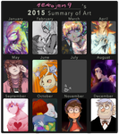 gallery summery of 2015 by nekojen9