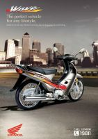 Honda Wave by hilall2006