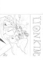 Lion King Poster - uncolored by PnFink