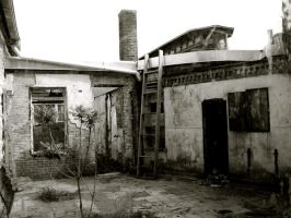 penitentiary courtyard by pinyourwings