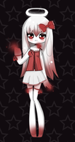 Adoptable: Blood Moon Guardian [CLOSED] by LushiAdopts