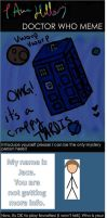 Completed Doctor Who Meme by ray-dnt