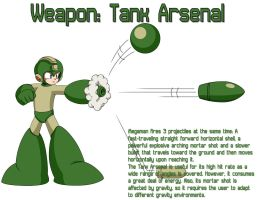 Weapon: Tank Arsenal by MegaPhilX