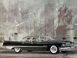 age of chrome and fins : 1959 Imperial by Peterhoff3