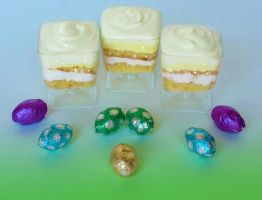 Mini Lemon Pound Cakes by Kitteh-Pawz