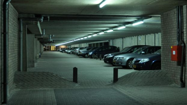 Parking lot by xiffy