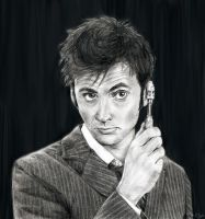 "David Tennant: ""The Doctor"" by Sterin"