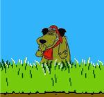 Muttley replacing the Duck Hunt Dog's Job by darthraner83