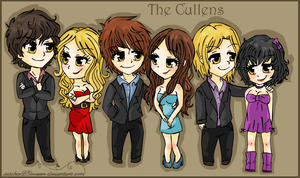 Twilight :: The Cullens by sasukee23loveeer