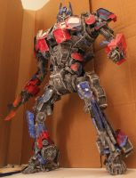 Transformers optimus prime by twitte0king