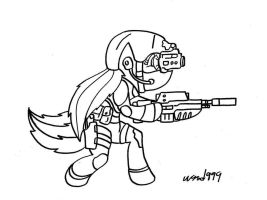 Octavia Black Ops by wasd999