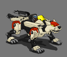 Bobtail (Original Zoid) by ScottaHemi