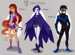 US - Teen Titans 1 by Coloralecante