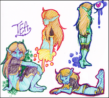 Comm.SketchPage.Tea::..+ by Uriko44