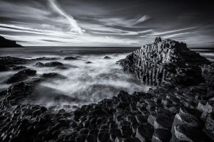 The Giant's Causeway by transkendium