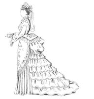 Fashion 1870 by IzaS