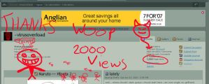 2000 page views by virusoverload